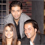 Preity Zinta and Bobby Deol on Koffee with Karan