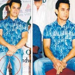 Aamir Khan's jeans and a patch