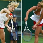 Red Knicker day at Wimbledon