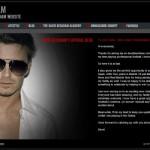 David Beckham in Blog World