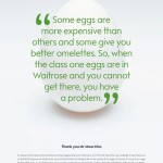 Waitrose Egg Ad Campaign – Thanks to Jose Mourinho
