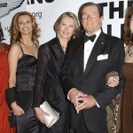 Roger Moore with his leading ladies