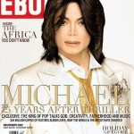 Michael Jackson with new face