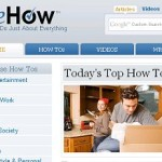 How to do everything and anything – ehow.com