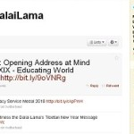 Dalai Lama Joins Twitter – Verified!