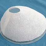Mesh Fabric Bra Implants