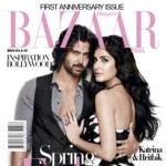 Katrina and Hrithik on Harper's Bazaar magazine
