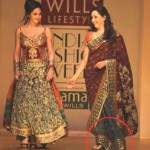Hema Malini walks the ramp in Slippers