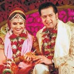 Chichora Rahul Mahajan married Dimpy Ganguly