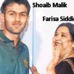 Shoaib Malik and Ayesha Siddiqui married on phone