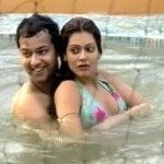Payal Rohatgi, Rahul Mahajan and Dimpy Ganguly
