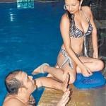 Dimpy Mahajan in bikini again