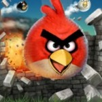 Angry Birds flash mob on December 11 in Trafalgar Square