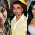 Ajaz Khan, Candy Brar and Sofia Hayat in BiggBoss 7