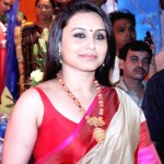 Rani and Family at Durga Puja