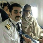 Rekha and Amitabh on same flight