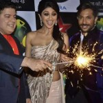 Shilpa Shetty celebrate Diwali on Nach Baliye