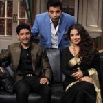 Vidya and Farhan on Koffee with Karan