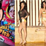 Poonam Pandey strips and Fish tattoo for ''What The Fish'.'