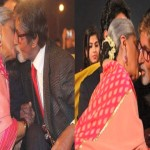 Amitabh and Jaya kissed in public