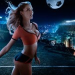 FIFA World Cup 2014 calendar with Brazilian female models