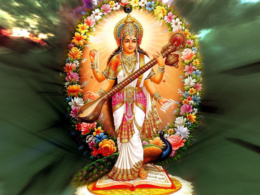Devi Saraswati wallpapers