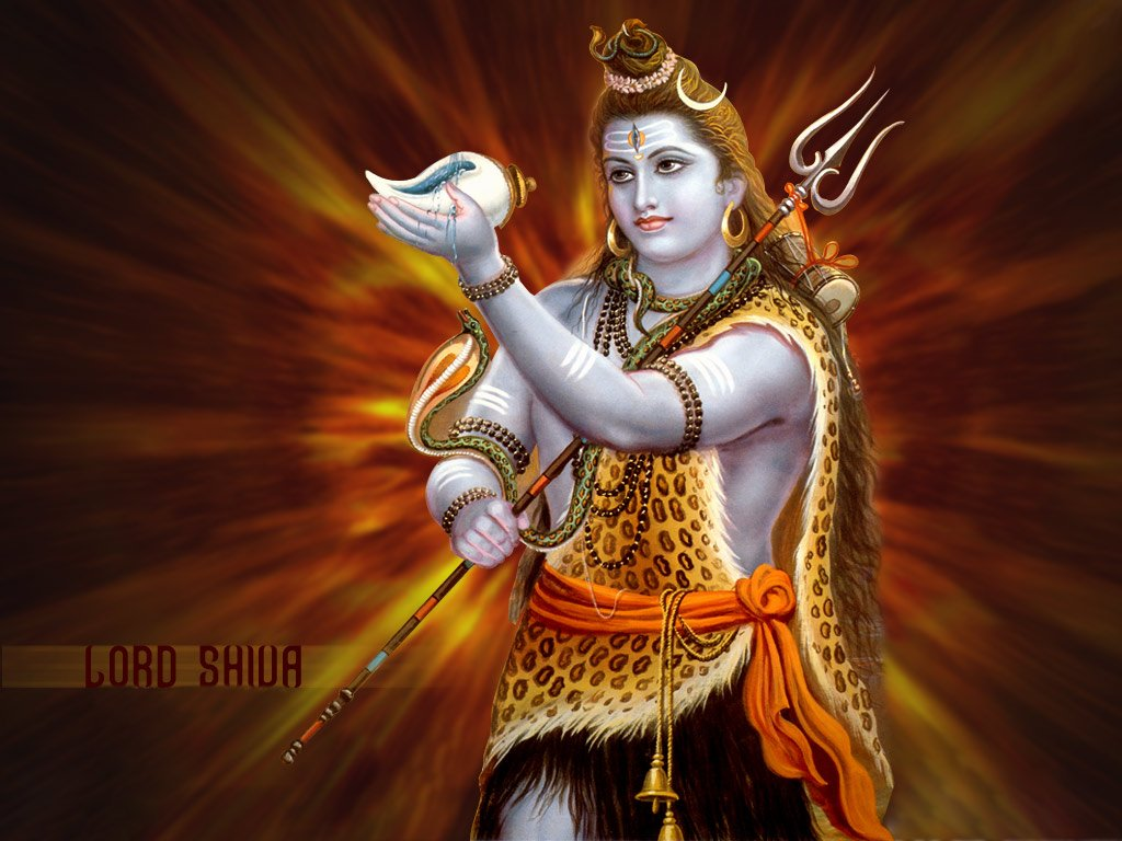 Indian Gods Shiva Wallpaper